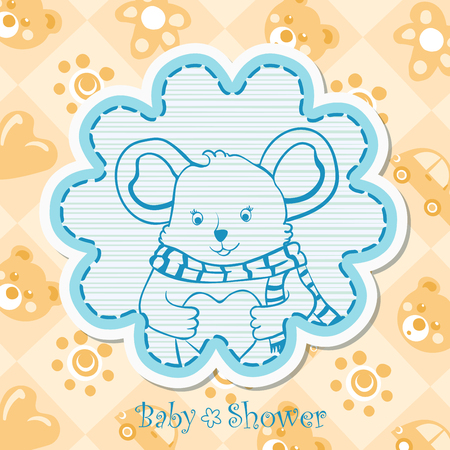special moments: Baby boy invitation for baby shower