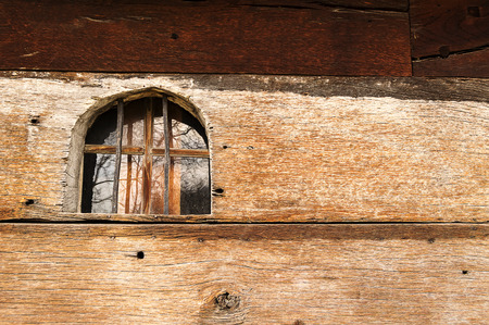 eighteenth: Eighteenth century church window. Stock Photo
