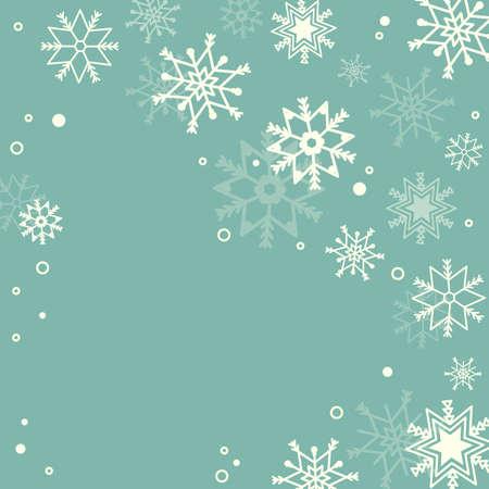 Subtle snowflakes pastel background Stock Vector - 17123152