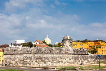 bulwark: Bulwark of Santiago in Cartagena de Indias