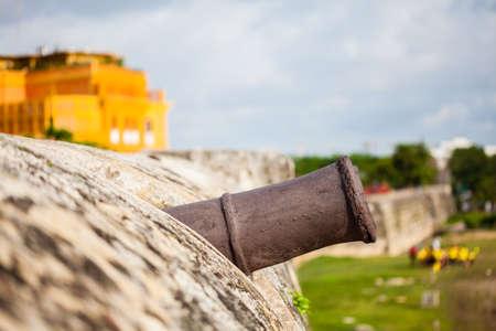 bulwark: Cannon of Cartagenas wall