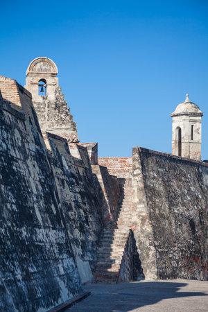 bulwark: San Felipe Castle in Cartagena de Indias Castillo de San Felipe