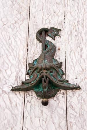knocker: Door knocker fish shaped