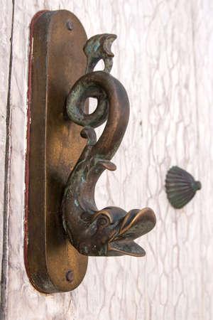 door knocker: Door knocker fish shaped