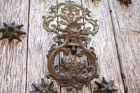 knocker: Door knocker dragon shaped