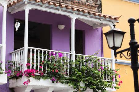 cartagena: Balcony in Cartagena de Indias