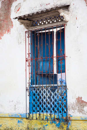 rickety: Window of Cartagena de Indias