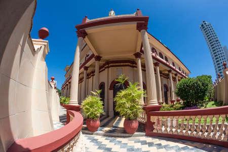 colonial building: Colonial building in Cartagena de Indias