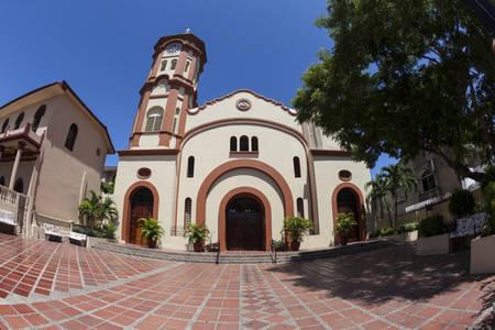 santa cruz: Santa Cruz de Manga Church