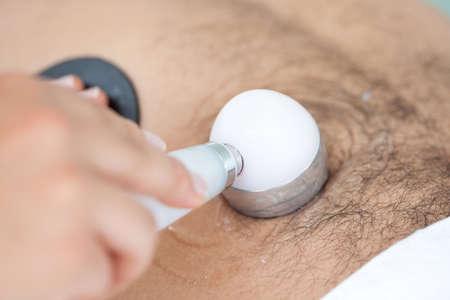 lymphatic drainage: Ultrasonic sound (Ultrasound) Treatment
