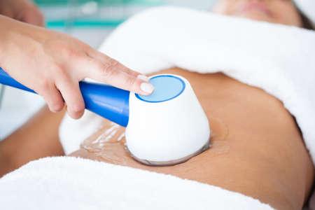lymphatic drainage: Ultracavitation treatment