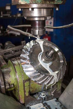 machine: Milling machine Stock Photo