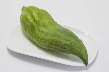 stuffing: Stuffing cucumber (Cyclanthera pedata) Stock Photo