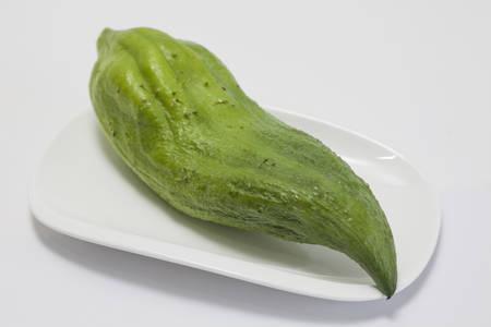stuffing: Stuffing cucumber (Cyclanthera pedata) Stock Photo