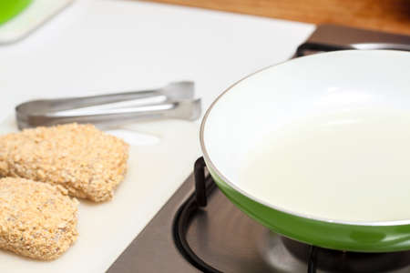 seasoned: Frying a cordon bleu
