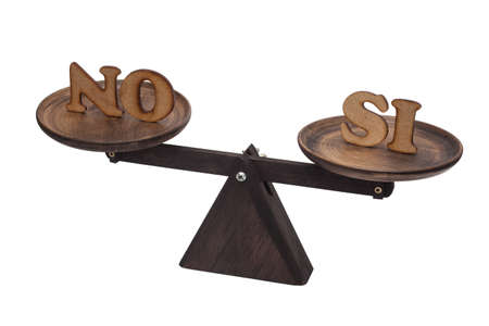 decide: Decide between yes and no - Spanish