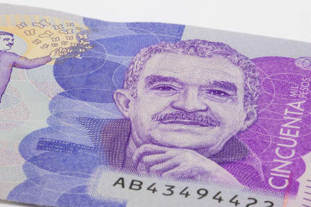 Fifty Thousand Colombian Pesos Bill Issued on 2016