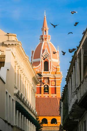 Metropolitan Cathedral Basilica of Saint Catherine of Alexandria Stock Photo