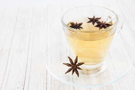 chamomilla: Chamomile (Matricaria chamomilla) and star anise (Illicium verum) infusion