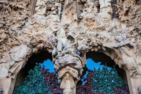 Nativity Facade of the Basilica and Expiatory Church of the Holy Family
