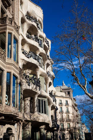 Mila House in Barcelona Spain