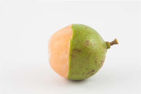 Delicious exotic tropical fruit called Melicoccus bijugatus