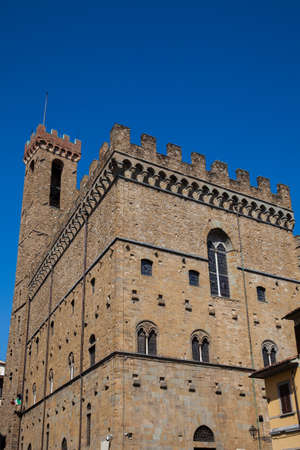 The historical Palazzo del Bargello built in 1256 to house the police chief of Florence