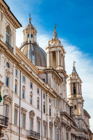 The church of Sant Agnese in Agone also called Sant Agnese in Piazza Navona