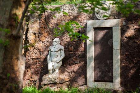 L'antique Porte Magique également appelée Porta Alchemica datant du 16ème siècle et située sur la Piazza Vittorio Emanuele II à Rome