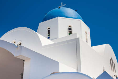 The parish church of St. Gerasimos located in Fira of Santorini