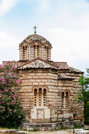 Church of the Holy Apostles known as Holy Apostles of Solaki located in the Ancient Agora of Athens built on the 10th century