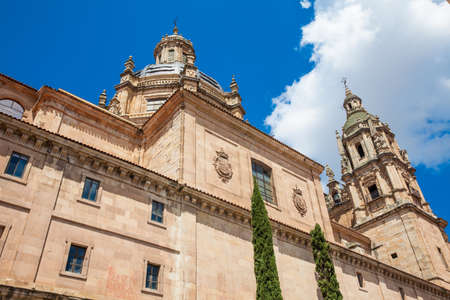 Historic building of the Royal College of the Holy Spirit of the Society of Jesus, commonly called La Clerencía, built in Salamanca between the 17th and 18th centuries and currently the headquarters of the University of Salamanca
