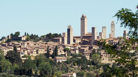 Pueblo middeleeuwse San Gimignano