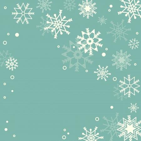 Subtiele sneeuwvlokken pastel achtergrond