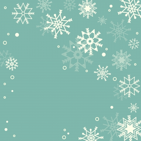 Subtle snowflakes pastel background Vector