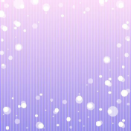 Color abstract with transparent bubbles.  Illustration