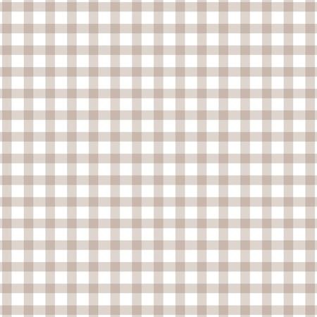 millimeter: Brown seamless grid pattern background. Vector illustration Illustration