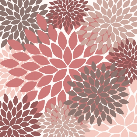 seamless pattern. modern floral texture. endless abstract background Vector