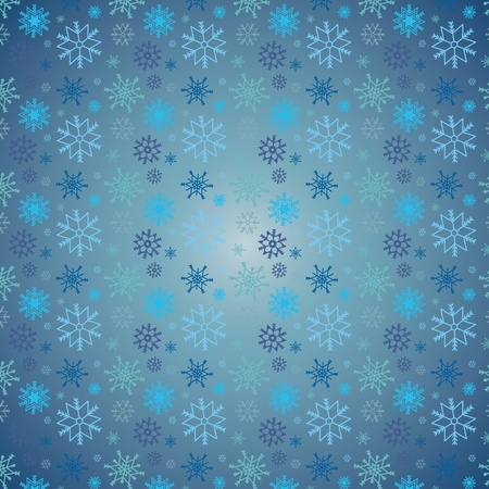 Snowflakes Christmas vector icons. Snow flake collection graphic art Stock Vector - 21536020