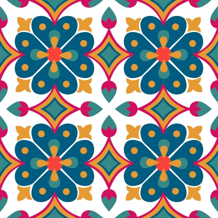 Achtergrond vintage bloem Naadloze bloemmotief Abstract behang Textuur koninklijke vector Stof illustratie