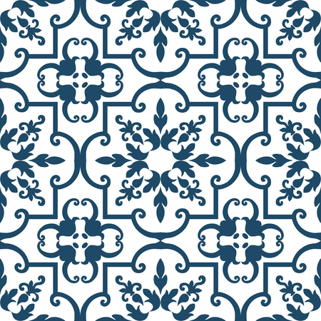 Background vintage flower. Seamless floral pattern. Abstract wallpaper. Texture royal vector. Fabric illustration. Reklamní fotografie - 22681363