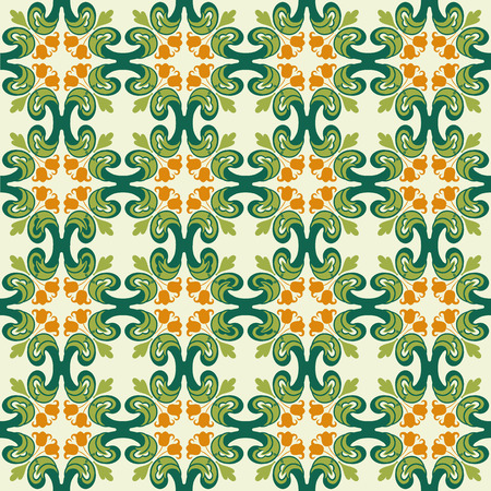 abstract wallpaper: vintage flower. Seamless floral pattern. Abstract wallpaper.