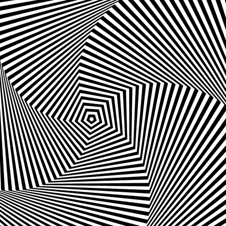 trickery: Op art, also known as optical art, is a style of visual art that makes use of optical illusions Illustration