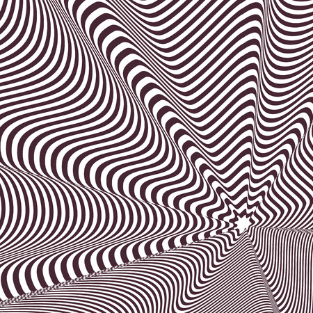 Op art, also known as optical art, is a style of visual art that makes use of optical illusions Illustration