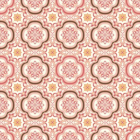 Achtergrond vintage bloem. Seamless floral pattern. Abstract behang. Textuur koninklijke vector. Stof illustratie.