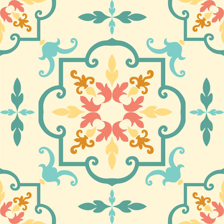 abstract wallpaper: Background vintage flower. Seamless floral pattern. Abstract wallpaper.