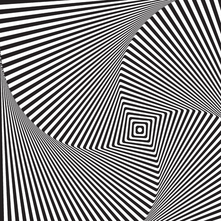 Op art, also known as optical art, is a style of visual art that makes use of optical illusions Ilustrace
