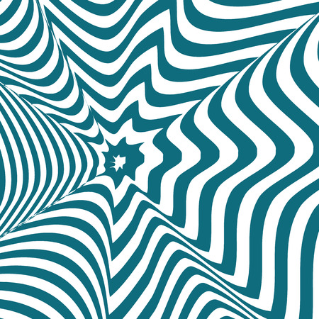 known: Op art, also known as optical art, is a style of visual art that makes use of optical illusions Illustration
