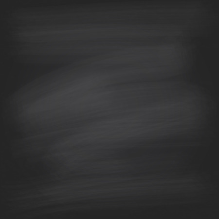 Black chalkboard background. Vector illustration. School board background