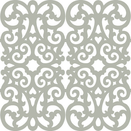 Beautiful seamless ornamental tile background vector illustration Vector